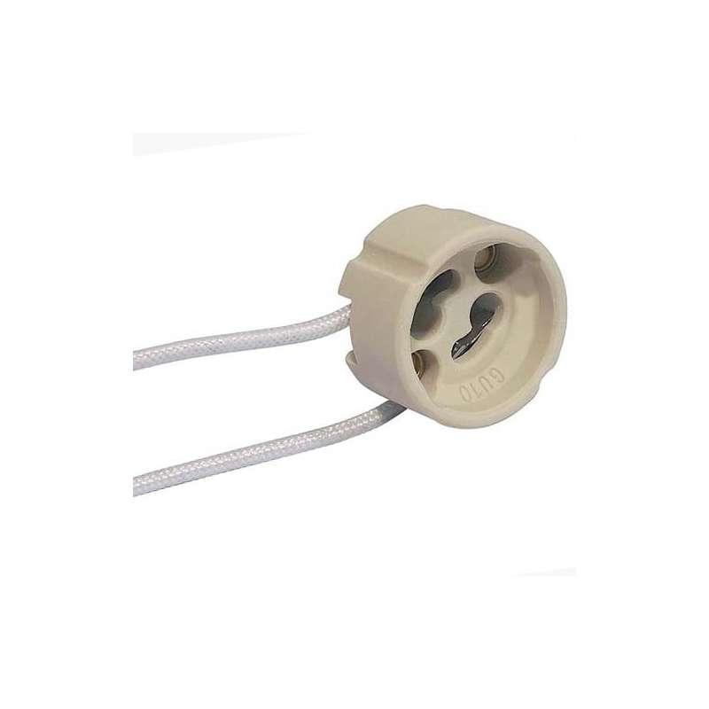Portalámparas conector GU10 230V