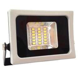 Proyector led 10W SMD 100° Serie Super Slim Gris y Negro