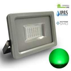 Proyector led Verde 20W Premium SMD 100° Serie Super Slim