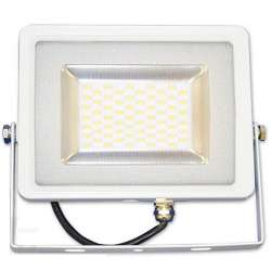 Proyector led 30W Premium SMD 100° Serie Slim Blanco