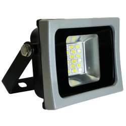 Proyector led 10W SMD 100° Serie Super Slim Gris y Negro
