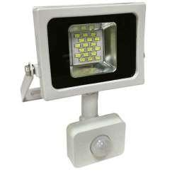 Proyector LED SMD Serie Slim con sensor de movimiento Blanco 6000K 10W 100°
