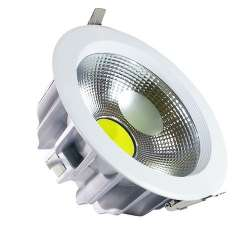 Downlight led COB Premium empotrable 30W 120°