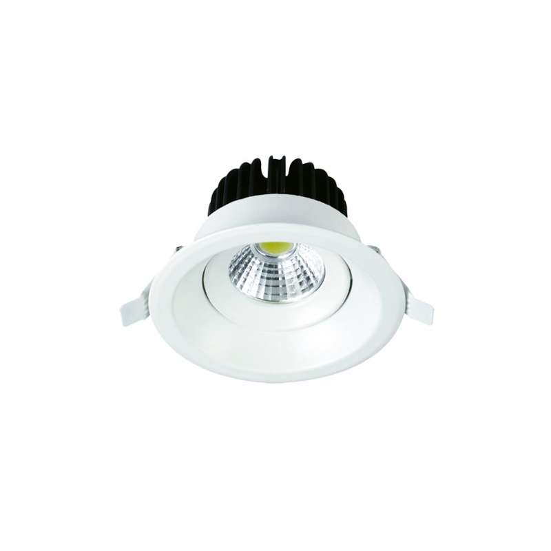 Downlight led COB Mini Premium empotrable Circular Fijo 6000K 8W 24°