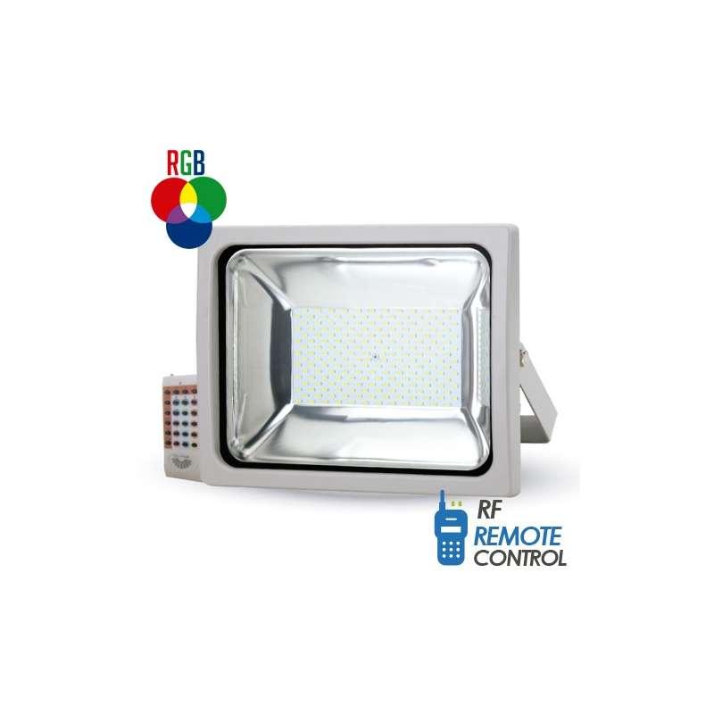 Proyector led PREMIUM SMD RGB 50W 120° radio control por radiofrecuencia