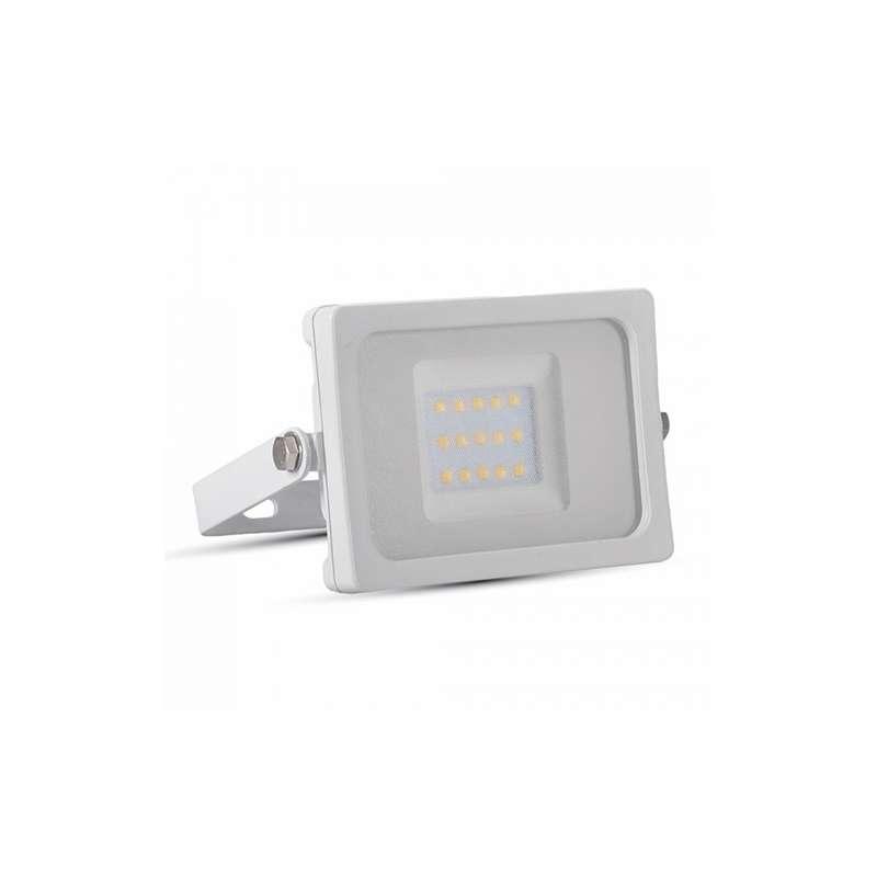 Foco proyector led 10W SMD Super Slim Serie Shiny Blanco