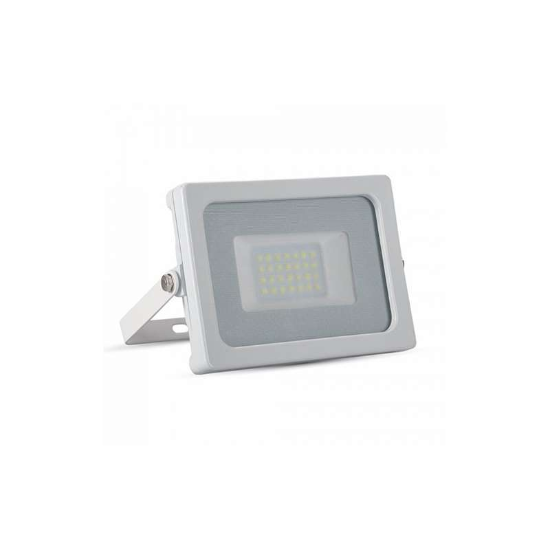 Foco proyector led 20W SMD Super Slim Serie Shiny Blanco