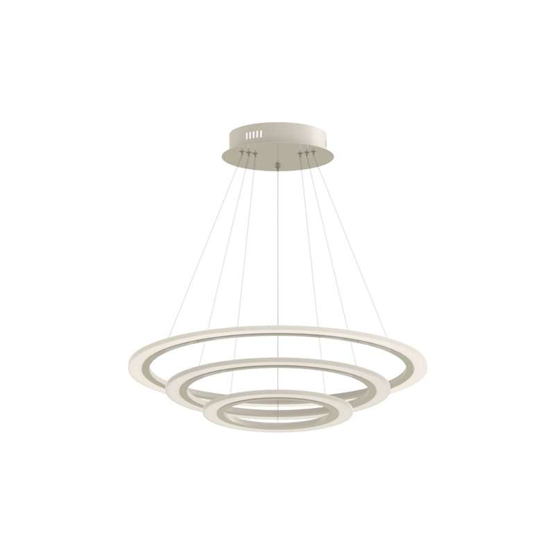 Lámpara colgante Soft Light Chandelier Slim 3 Step Serie Deluxe 3000K