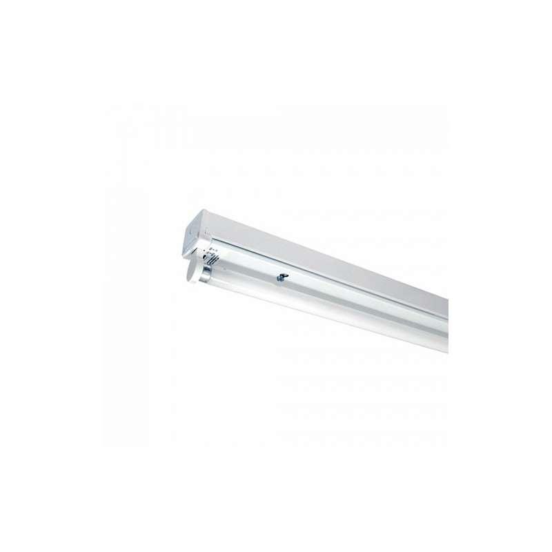 Regleta tubo led 1x120cm conexión un extremo IP20