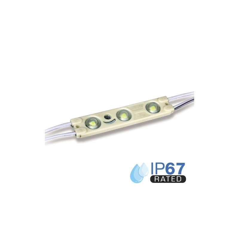 Módulo LED para rotulación Azul 1W IP65 12V Diodo 2835