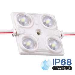 Módulo LED para rotulación Rojo 1.44W 4LED IP68 12V Diodo SMD2835