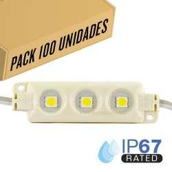 Pack 200ud - Módulo LED para rotulación RGB 0.72W IP66 12V Diodo SMD5050