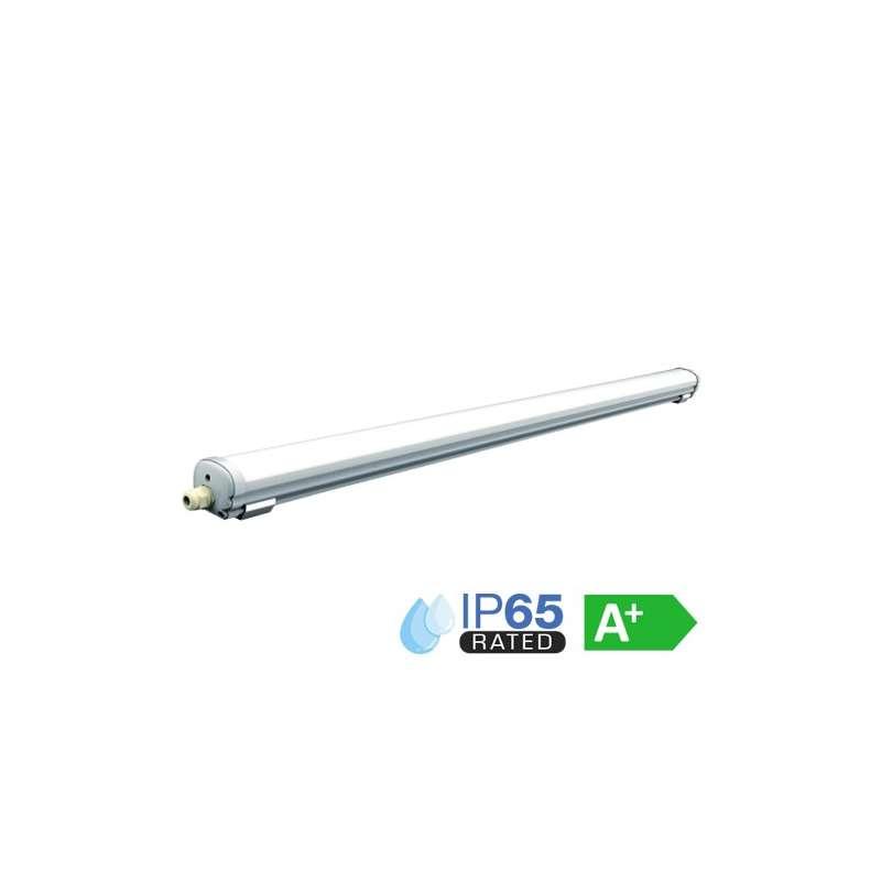 Regleta LED Compacta IP65 6000K 48W 120° 150cm