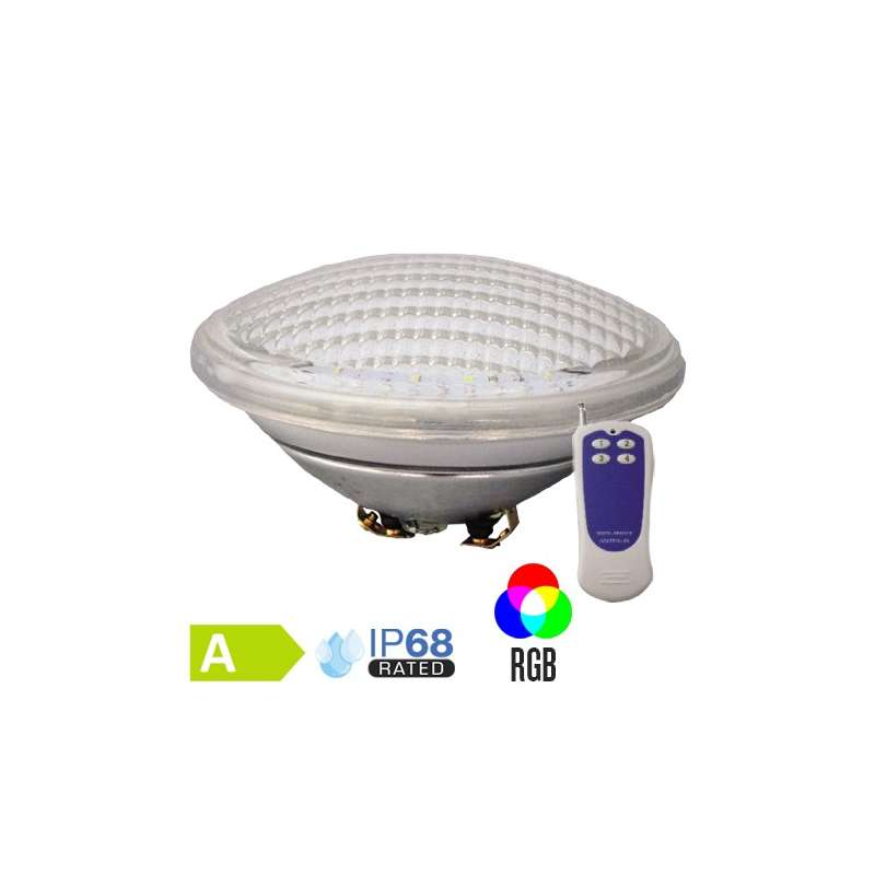 Bombilla LED empotrable RGB