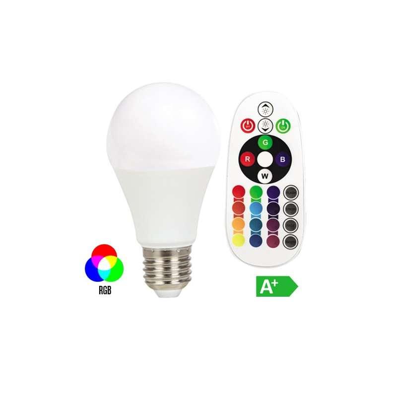 Lámpara led globo E27 6W 200° EXPERIENCE RGB+2700K