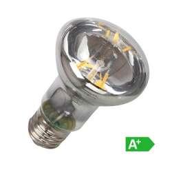 Lámpara led filamento E27 3000K R63 6W 70°