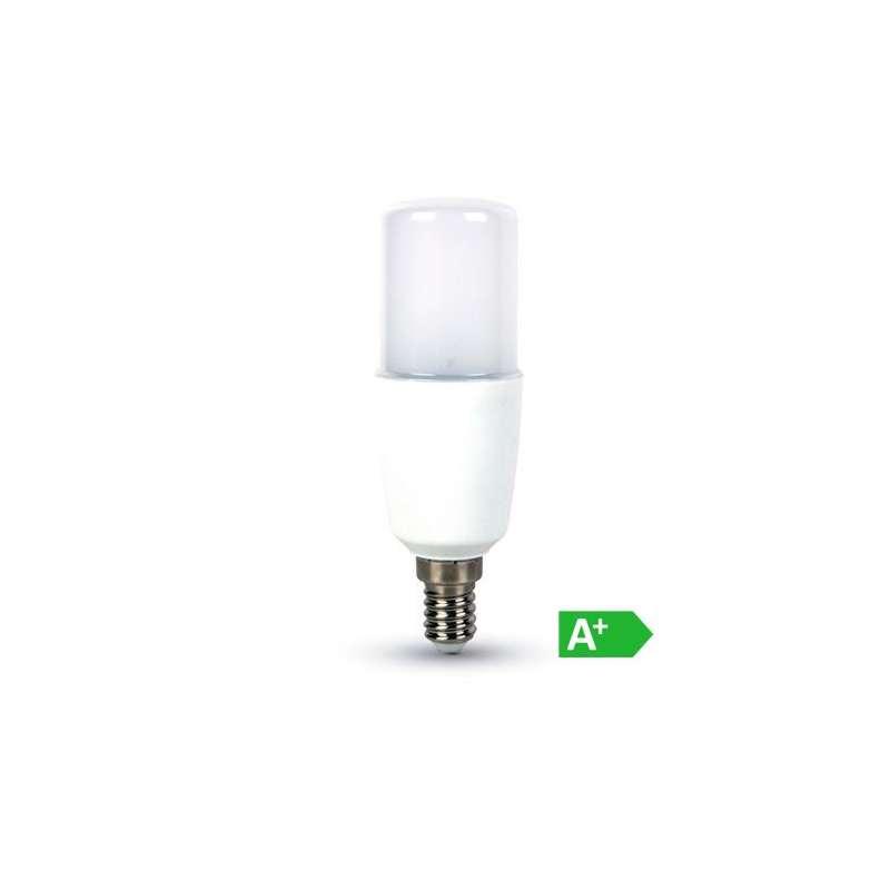 Lámpara Led T37 E14 9W 300° tapa blanca