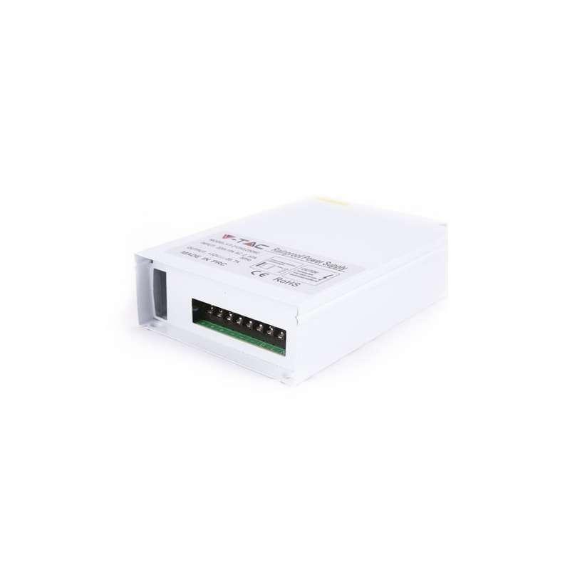 Fuente de alimentación profesional para tiras LEDs 12VDC 150W 12.5A IP45