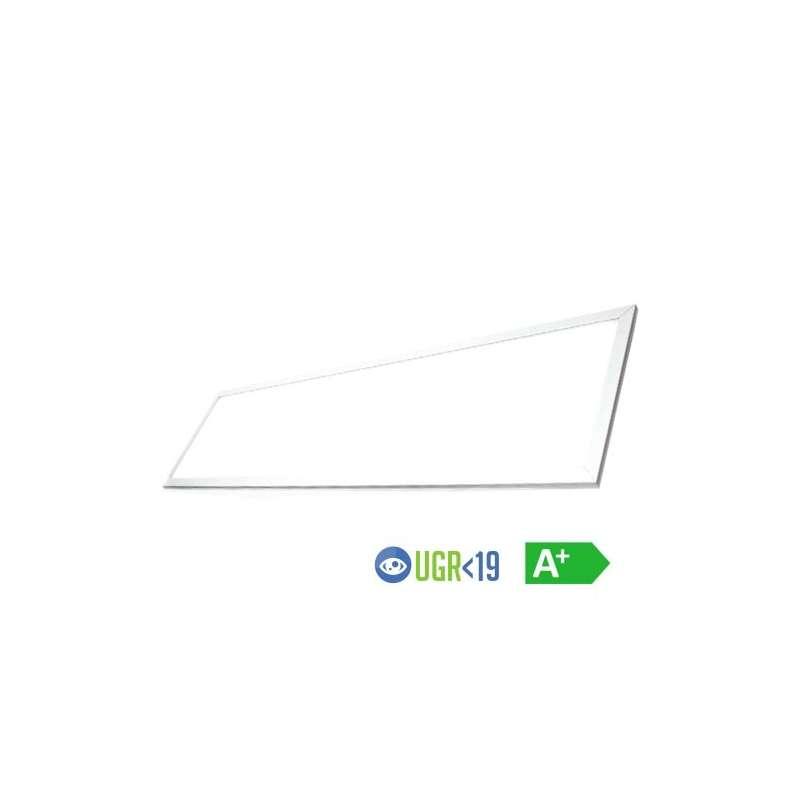 Panel LED Premium UGR 6400K 45W 1200mm x 300mm 120° Driver incluido.