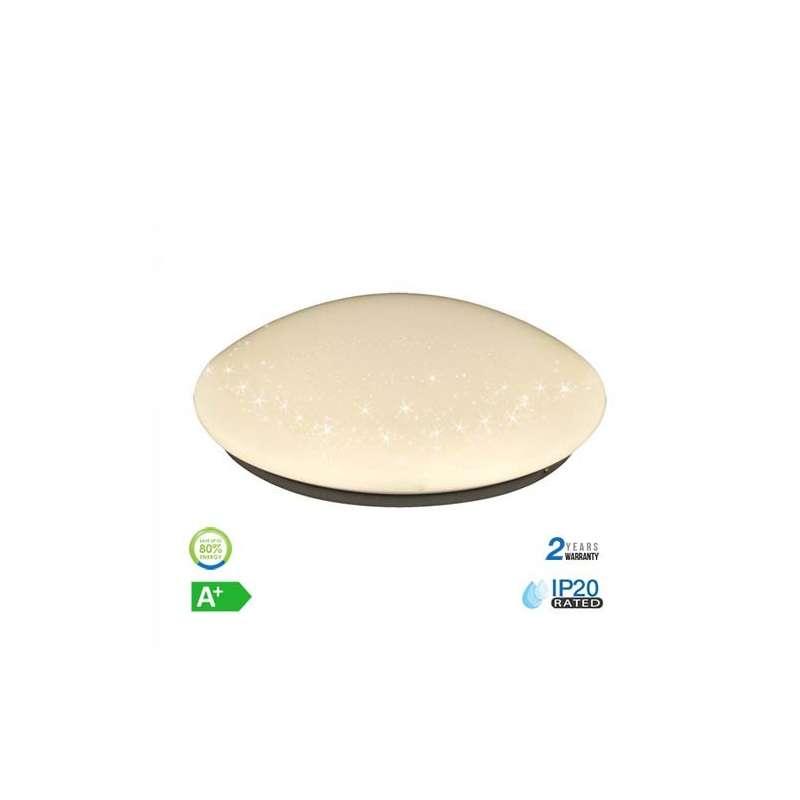 Aplique LED Luxurious Star circular 12W 120°
