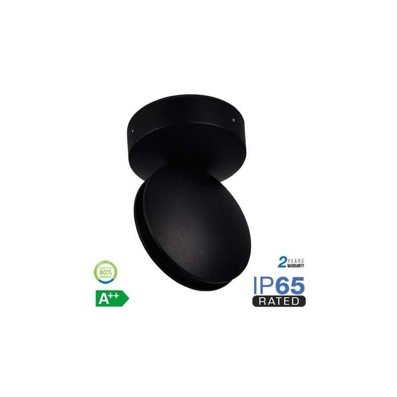 Aplique LED de pared Serie Special 7W 360° IP65 Negro