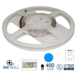 Tira led SMD3528 azul 3.6W/m 60 led/m 12V  IP20