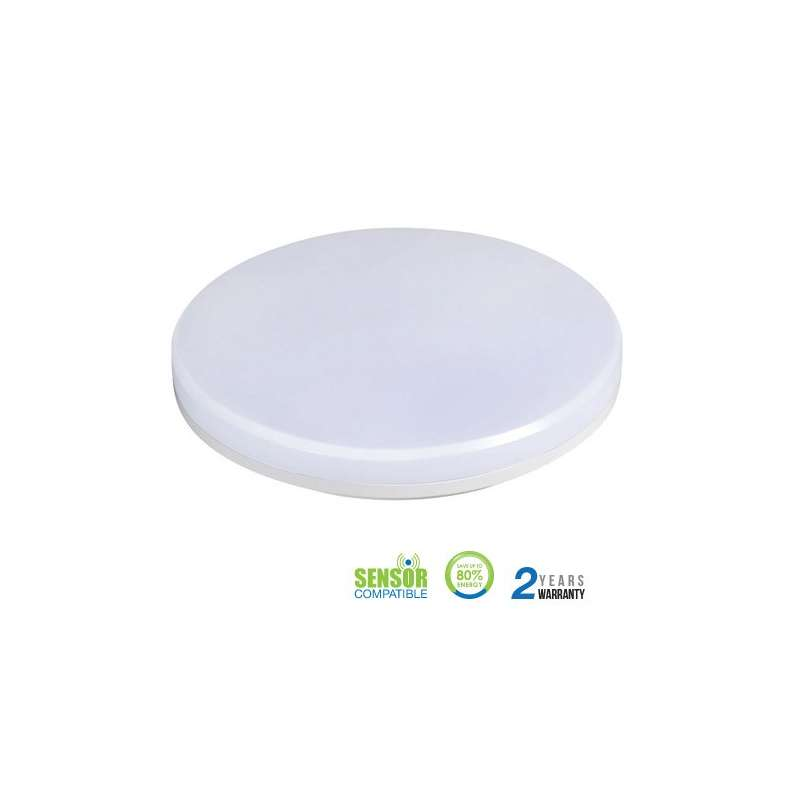 Plafón LED Luxurious superficie Ultra Slim circular 25W 110°