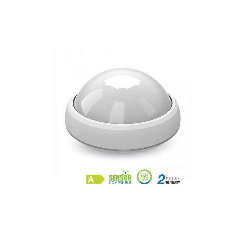Plafón LED superficie circular 12W 120° IP54