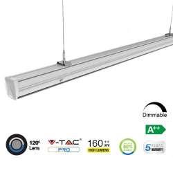 Módulo LED lineal en suspensión Master 4000K 50W 120° High Lumen
