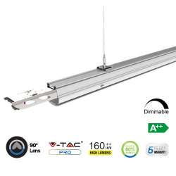 Módulo LED lineal en suspensión 4000K 50W 90° High Lumen
