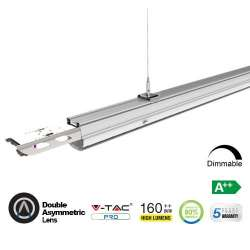 Módulo LED lineal en suspensión 4000K 50W Doble lente asimétrica High Lumen