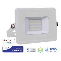 Proyector LED 20W Samsung PRO 100° Blanco