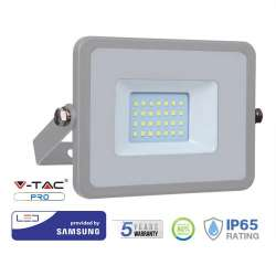 Proyector LED 20W Samsung PRO 100° Gris
