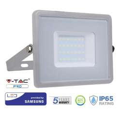 Proyector LED 30W Samsung PRO 100° Gris