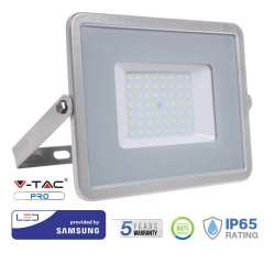 Proyector LED 50W Samsung PRO 100° Gris