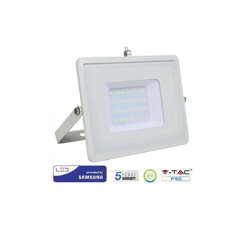 Proyector LED 30W Samsung PRO 100° Blanco