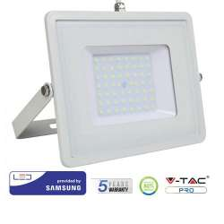 Proyector LED 50W Samsung PRO 100° Blanco