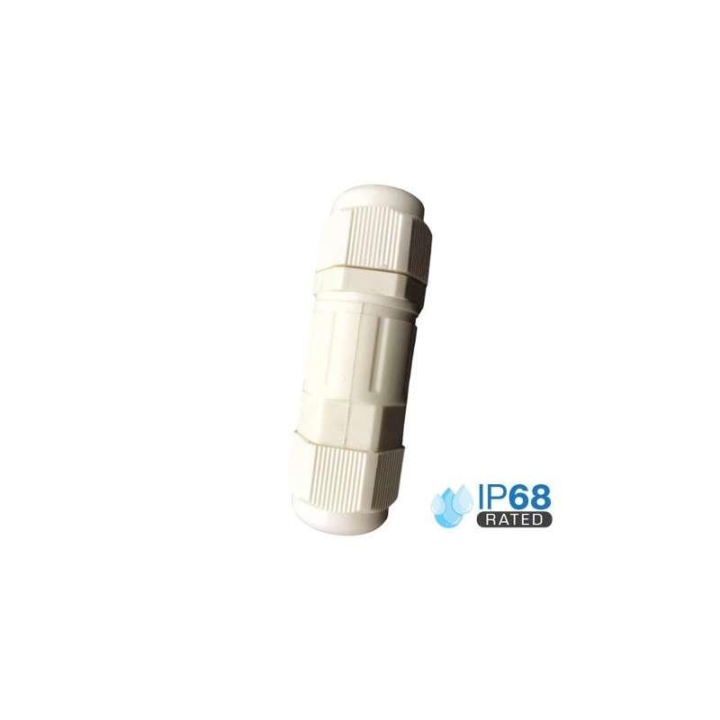 Caja estanca con terminal de bloqueo IP65 Blanca