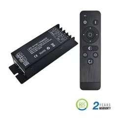 Controlador dimmer para tira LED máx. 300/600W 25A DC12/24V + mando RF