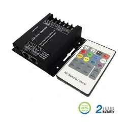 Controlador dimmer para tira LED RGB máx. 144/288W 4Ax3CH DC12/24V + mando RF