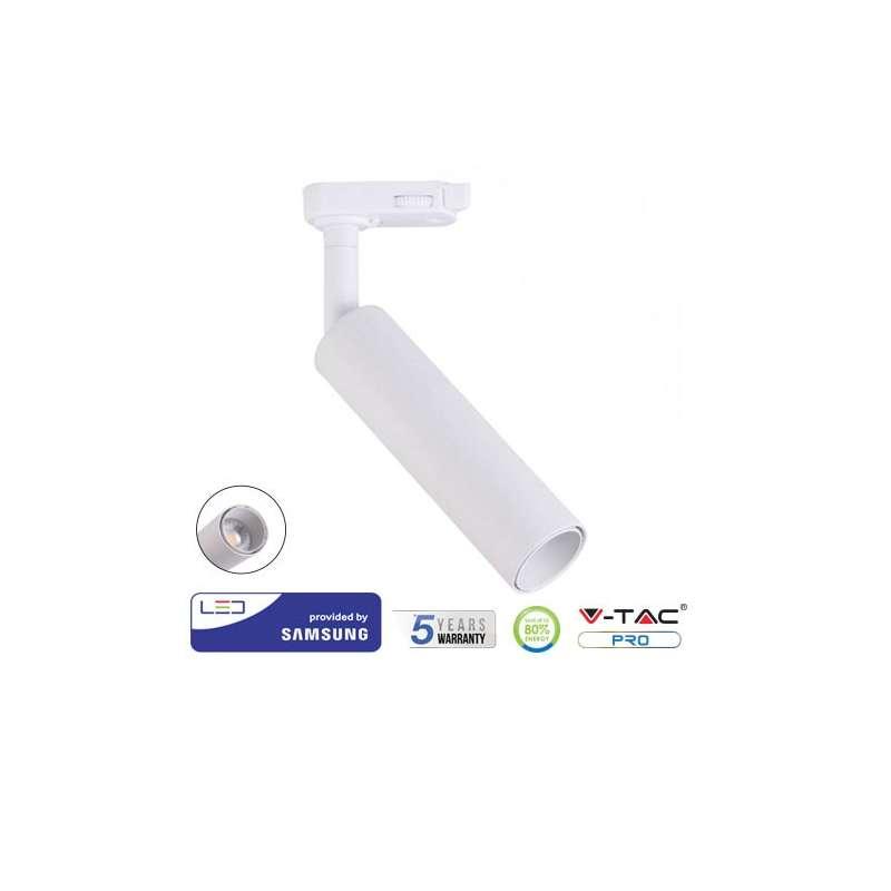 Foco Proyector LED COB Samsung PRO 4 Núcleos 7W 24° Blanco