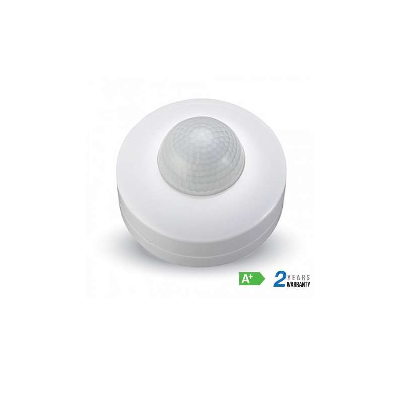 Detector de presencia por infrarrojos 360° Blanco
