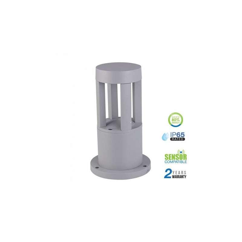 Lámpara LED para jardín Serie Modern 10W 72° IP65 Gris
