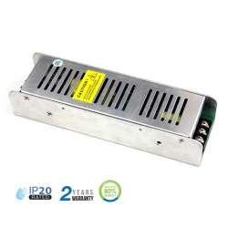 Fuente de alimentación para tiras LED 150W 24VDC 6.25A Regulable