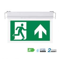 Luminaria LED Salida de Emergencia Empotrable Fija Express 6000K 2W