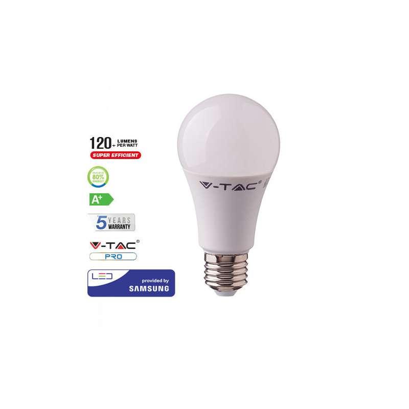 Lámpara LED Samsung A60 E27 8.5W 200° Gama PRO