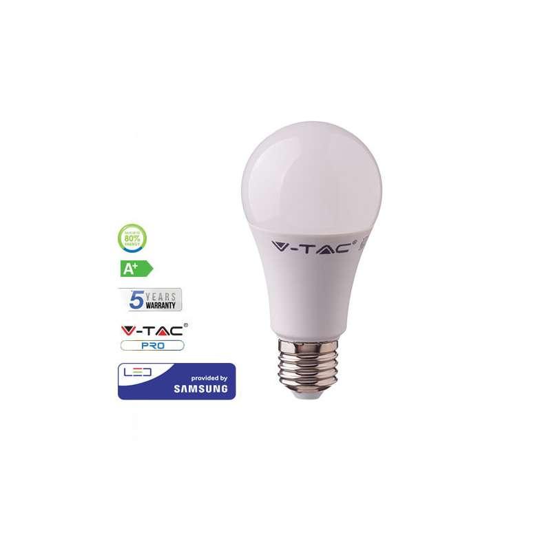 Lámpara LED Samsung A58 E27 9W 200° Gama PRO
