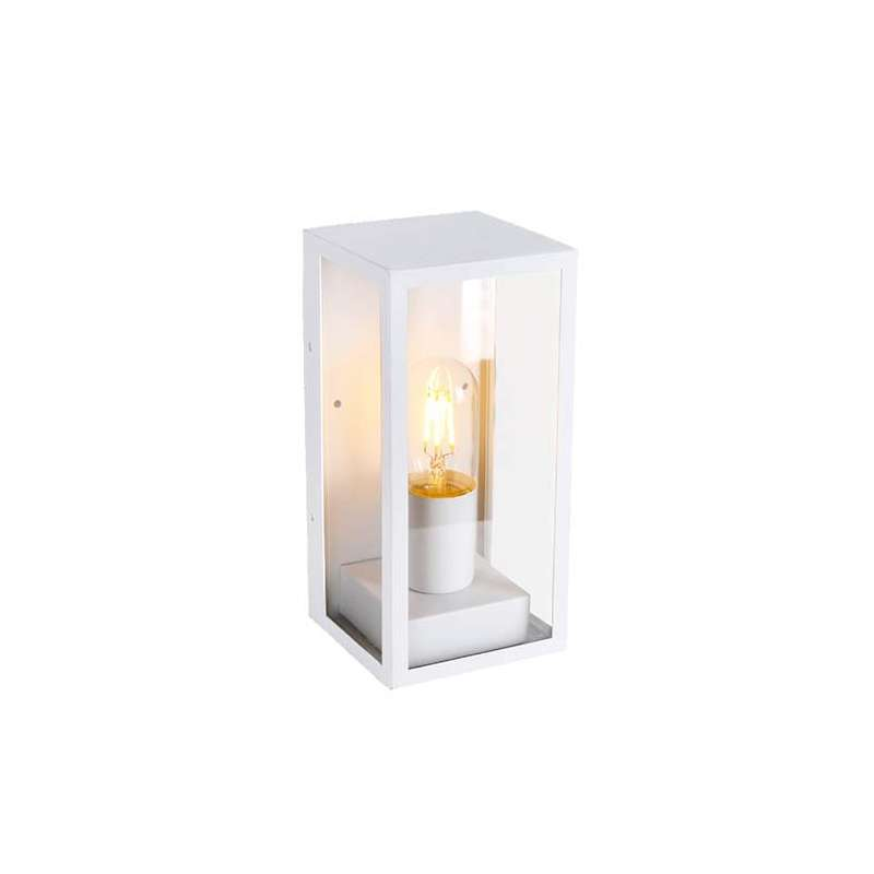 Lámpara de pared para jardín Serie Modern IP44 Blanco