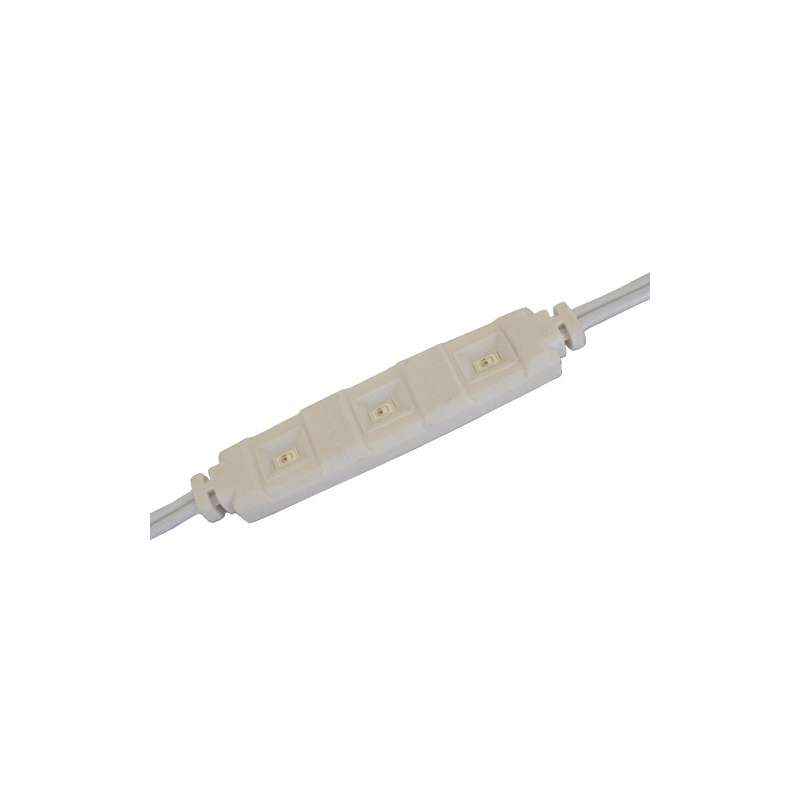Módulo LED para rotulación  Rojo 1.3W IP65 12V diodo SMD5630 Samsung