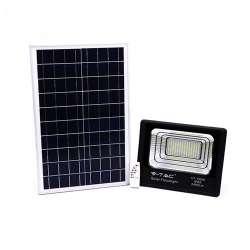 Foco proyector LED Solar 4000K 100W 120° IP65 Negro